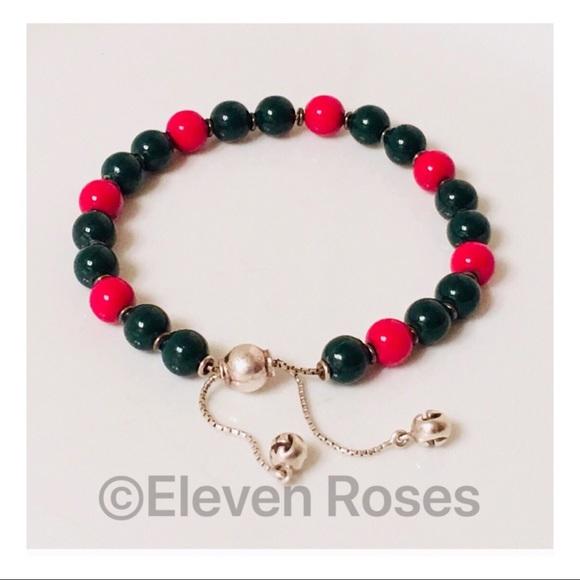 2783bd57ec23 Gucci Jewelry - Gucci Boule Britt Red   Green Wood Bead Bracelet